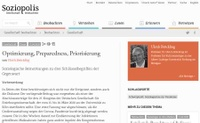 Ulrich Bröcklings Essay >Optimierung, Preparedness, Priorisierung< ist online publiziert.